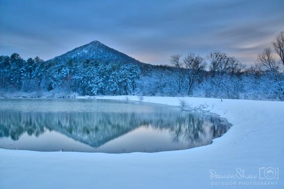 Snow at Pinnacle Mountain