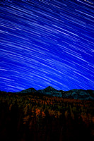 Star Trails Over Wilson Peak