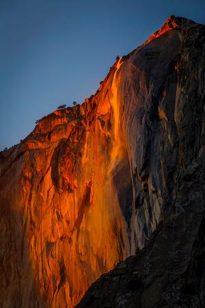 Horsetail Falls (aka Firefall)
