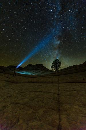 Milky Way at the White Pocket