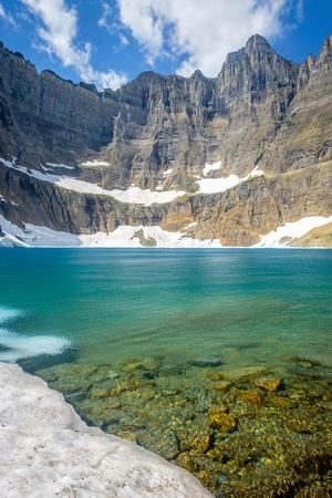 Iceberg at Iceberg Lake