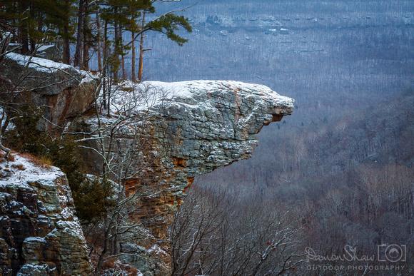Hawksbill Crag dusting