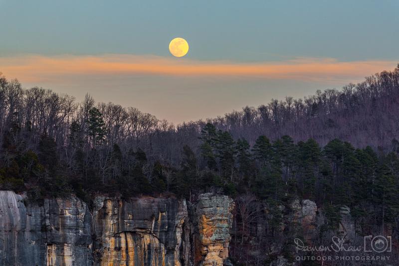 Roark Bluff Moonrise