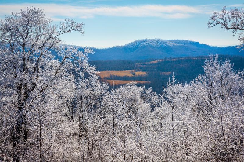 Ice At White Rock Mountain