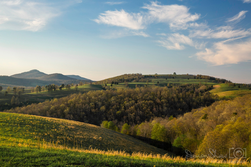 Rolling hills near Hasty