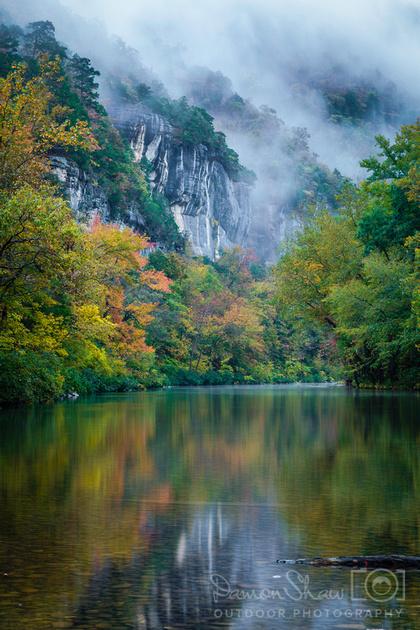 Old River Trail near  Steel Creek in October
