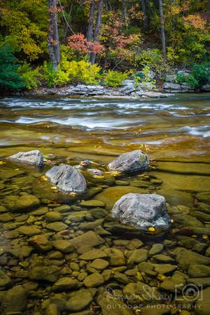 Grey Rock Shoals on the Buffalo