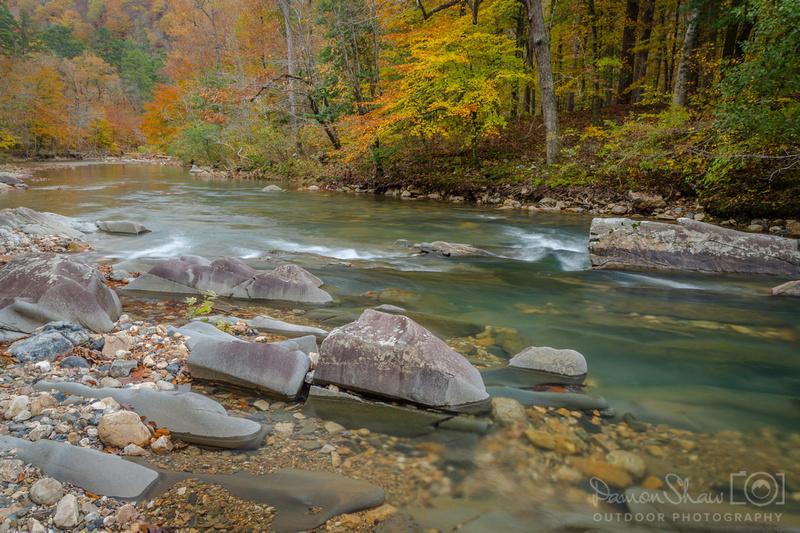 Little Missouri River in November