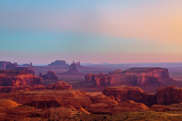 Dawn At Hunts Mesa